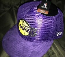 LAKERS LOS ANGELES NEW ERA CAPS 59FIFTY OFFICIAL SIZE 7 1/2 OR 59.6CM EMBOSS