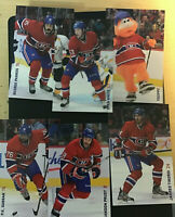 2013-14 Montreal Canadiens Team Issue Postcards - LOT (26) /MAD