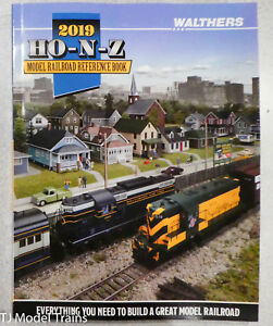 Walthers #913-219 Model Railroad Reference Book 2019 HO-N-Z