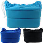 DSLR Camera Bag Insert Padded Partition Pouch Cover Case For Canon Nikon Sony X