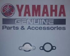 Vintage Yamaha Motorcycle Oil Pump Block Off Cover Plate Cap & Gasket AHRMA