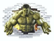 Incredible Hulk Wall Decal 3D Stickers Childs Bedroom Playroom Nursery Avengers