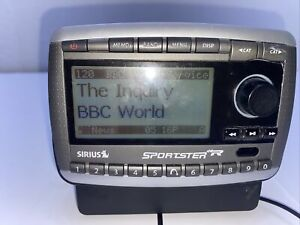 SIRIUS Sportster SPR2 XM radio receiver CABLES ACTIVE LIFETIME SUBSCRIPTION 87.7