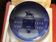 Bing And Grondahl The Royal Palace Plate, In Box
