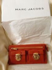 MARC JACOBS Large quilted ZIP CLUTCH WALLET Purse RARE NEW SOLD OUT $495+