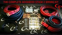 1/0 AWG GAUGE OFHC AMP WIRING KIT STAGE 2 GP CAR AUDIO RED BLACK