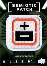 Alien Movie, Upper Deck, Semiotic Standards Patch Card, SP10 Astronic Systems