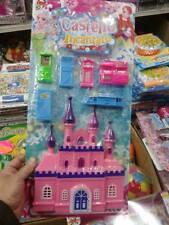 kit gioco bimbi castello principesse toy giocattolo plastica