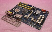 ASRock P41C-DE LGA775 DDR2 DDR3 PCI-E Motherboard with Backplate and Processor