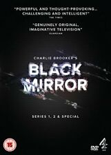 Black Mirror - Series 1-2 and Special [DVD]