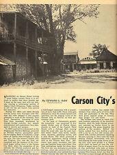 Carson City's Nevada Chinatown + Genealogy