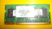 Samsung 512MB DDR2 Laptop RAM 431402-001 M470T6554CZ3