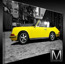 Porsche 911 Targa 2.4 Bild Canvas ART Kunstdruck echtes Leinwandbild artwork TOP