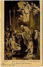 1907 Roma - Pinacoteca Vaticana Ult. Comunione S. Girolamo Vilvorde - FP B/N VG