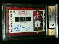 BGS 9/10 POP 3 KYLER MURRAY RC AUTO /15 1/1 SUBS *DIAMOND ROOKIE 2019 Contenders
