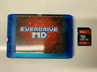 1PC MD Sega Game Cartridge16 BIT V3.8 Plus system Mega Drive Genesis New Version