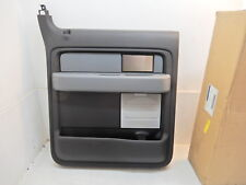 2011-2014 Ford F150 Crew Cab OEM Left Rear Interior Door Panel BL3Z-1627407-HB