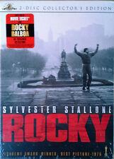 ROCKY - SYLVESTER STALLONE - (2) DVD SET - SLIP COVER + MOVIE TICKET - SEALED