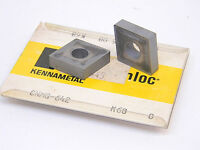 NEW 5PCS. KENNAMETAL CNMG 642 GRADE: K68 CARBIDE INSERTS 190608