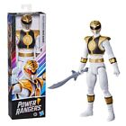 Power Rangers Mighty Morphin White Ranger 12-Inch Action Figure Toy with Sword