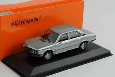 BMW 520 E12 Light Blue Metallic 1974 1:43 Minichamps Maxichamps