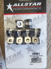 "ALLSTAR PERFORMANCE USA 1/4""  BRAKE LINE CLAMPS X 10"
