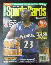 Sports Cards magazine January 2002 Michael Jordan cover