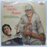 Shirdi Ke Saibaba Bhajans LP Record Bollywood Hindi 1984 Rare Vinyl Indian EX