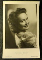 Star-Postkarte Hannelore Schroth, 13,9 x 9,0 cm