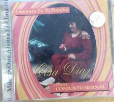 Lampara es tu Palabra- Elsa Diaz con el Cojunto Bernal- CD de musica cristiana