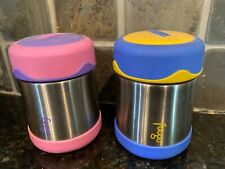THERMOS FOOGO Vacuum Insulated Stainless Steel 10-Ounce Set of 2 Perfect!!!