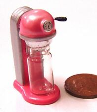 1:12 Scale Dolls House Miniature Cafe Kitchen Accessory Pink Soda Drink Machine