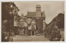 Dorset postcard - Coram Court, Lyme Regis - RP - P/U 1945