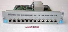 HP j4892a 12 ports 100 BASE-FX MTRJ Module ProCurve 4104gl 4108gl fonction examiné