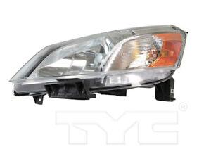 TYC Left Driver Side Halogen Headlight for Nissan NV200 2013-2018 Models