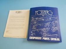 Vintage Mossberg Dealer Coponent Parts Catalog 1976 Catalog