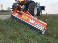 "Flail Ditch Bank Mower: Peruzzo Elk Cross 1600, 60""Cut, 35-60HP, AdjustOnTheFly!"