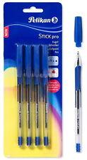 PELIKAN STICK PRO BALL POINT ERGONOMIC GRIP, 4 PCS PEN WITH BLUE INK