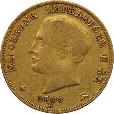 ITALIE - Royaume d'Italie, 20 Lire 1808 M Milan
