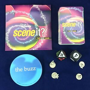 Scene It Disney Edition DVD Board Game Replacement Parts Pieces Token