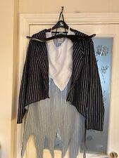 Mens Nightmare Before Christmas Jack Skellington Fancy Dress Dressing Up Costume