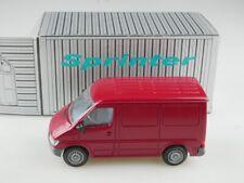 404 NZG 1/43 Mercedes Benz Sprinter Lieferwagen rot mit Box 514861