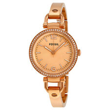 Fossil Georgia Glitz Rose Gold-tone Ladies Watch ES3226
