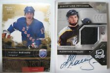 2006-07 UD The CUP SP-AR Alexander Radulov 57/75 signature patches RC auto