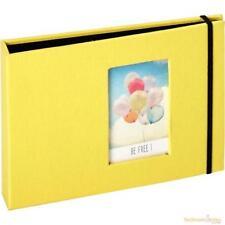 Fujifilm Instax Mini photos 8.5 x 5.5cm 72 Pockets Album Yellow