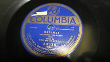 VAN AND SCHENCK COLUMBIA 78 RPM RECORD 3336 BLUES FOR MY KENTUCKY HOME