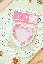 Cute Kawaii Flower Heart Sticky Notes memo pad label gift