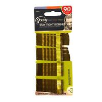 Lot of 1 Goody Stay Tight Bobbies Blonde Bobby Pins 90 Count.
