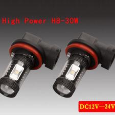 2x 30W H11/H8 LED Lampen Nebelscheinwerfer Scheinwerfer Tagfahrlicht Universal