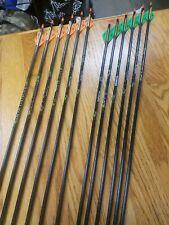 New ICS Beman Bow Hunter Carbon Arrow Shafts Size 500 1 Dozen Bare Shaft ICSB500